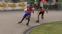 MediaID=37439 - Int. Speedskating Event Mechelen 2014 - Junior A men, 500m final 1