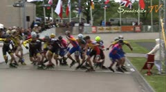 MediaID=37450 - Int. Speedskating Event Mechelen 2014 - Junior A men, 10.000m elimination final 1