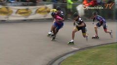 MediaID=37453 - Int. Speedskating Event Mechelen 2014 - Junior A women, 500m final 1