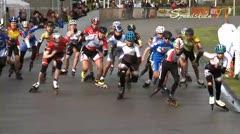 MediaID=37457 - Int. Speedskating Event Mechelen 2014 - Junior B women, 3.000m points final 1
