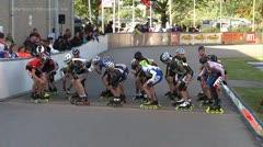 MediaID=37458 - Int. Speedskating Event Mechelen 2014 - Cadet Boys, 3.000m points final 1