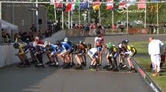 MediaID=37459 - Int. Speedskating Event Mechelen 2014 - Junior B men, 3.000m points final 1
