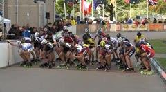 MediaID=37460 - Int. Speedskating Event Mechelen 2014 - Senior men, 5.000m points final 1