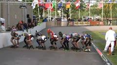 MediaID=37462 - Int. Speedskating Event Mechelen 2014 - Cadet Girls, 3.000m points final 1