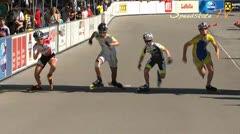 MediaID=37485 - 9.Internationales Speedskate Kriterium Wörgl - Cadet Boys, 500m final 1