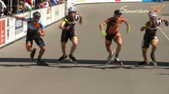 MediaID=37486 - 9.Internationales Speedskate Kriterium Wörgl - Senior men, 500m sprint final 1