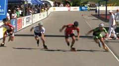 MediaID=37487 - 9.Internationales Speedskate Kriterium Wörgl - Junior B men, 500m final 1