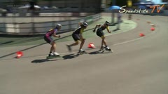 MediaID=37493 - 9.Internationales Speedskate Kriterium Wörgl - Junior A women, 500m final 1