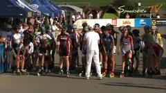 MediaID=37496 - 9.Internationales Speedskate Kriterium Wörgl - Junior B women, 5.000m points final 1