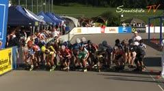 MediaID=37499 - 9.Internationales Speedskate Kriterium Wörgl - Cadet Girls, 3.000m points final 1