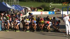 MediaID=37502 - 9.Internationales Speedskate Kriterium Wörgl - Junior B men, 5.000m points final 1