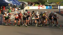 MediaID=37507 - 9.Internationales Speedskate Kriterium Wörgl - Senior women, 5.000m points final 1