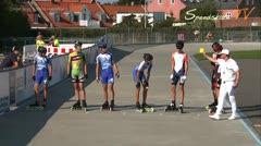 MediaID=37569 - Danish Inline Grandprix Europeancupfinal 2014 - Cadet Boys, 1.000m semifinal1