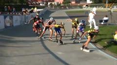 MediaID=37570 - Danish Inline Grandprix Europeancupfinal 2014 - Junior A men, 1.000m final