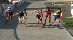 MediaID=37575 - Danish Inline Grandprix Europeancupfinal 2014 - Junior B men, 1.000m final