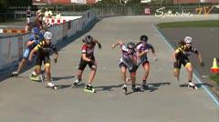 MediaID=37576 - Danish Inline Grandprix Europeancupfinal 2014 - Junior A women, 3.000m points final