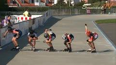 MediaID=37578 - Danish Inline Grandprix Europeancupfinal 2014 - Cadet Girls, 1.000m semifinal1