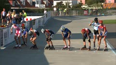 MediaID=37581 - Danish Inline Grandprix Europeancupfinal 2014 - Cadet Girls, 1.000m final