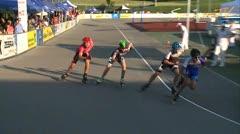 MediaID=37592 - 10.Internationales Speedskate Kriterium Wörgl - Junior A women, 500m final