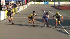 MediaID=37608 - 10.Internationales Speedskate Kriterium Wörgl - Senior men, 500m sprint semifinal2