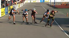 MediaID=37610 - 10.Internationales Speedskate Kriterium Wörgl - Junior A men, 500m semifinal2