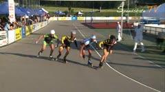 MediaID=37618 - 10.Internationales Speedskate Kriterium Wörgl - Senior men, 500m sprint semifinal2