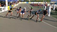 MediaID=37619 - 10.Internationales Speedskate Kriterium Wörgl - Junior B women, 500m semifinal2