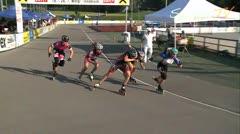 MediaID=37632 - 10.Internationales Speedskate Kriterium Wörgl - Senior women, 500m sprint semifinal1