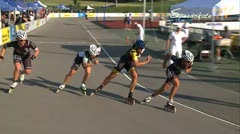 MediaID=37638 - 10.Internationales Speedskate Kriterium Wörgl - Senior men, 500m sprint semifinal2