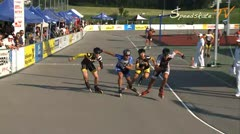 MediaID=37643 - 10.Internationales Speedskate Kriterium Wörgl - Senior women, 500m sprint semifinal1