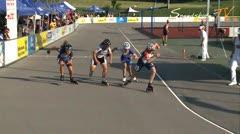 MediaID=37648 - 10.Internationales Speedskate Kriterium Wörgl - Junior A women, 500m semifinal1