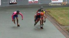MediaID=37654 - 37. Int. Speedskating Kriterium Gross-Gerau 2015 - Junior A men, 500m final
