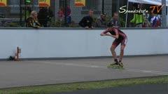 MediaID=37666 - Int. Speedskating Event Mechelen 2015 - Cadet Girls, 300m time final