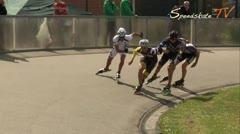 MediaID=37688 - Int. Speedskating Event Mechelen 2015 - Senior men, 500m sprint semifinal1