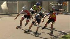 MediaID=37695 - Int. Speedskating Event Mechelen 2015 - Junior B men, 500m semifinal2