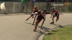 MediaID=37702 - Int. Speedskating Event Mechelen 2015 - Junior A men, 500m semifinal1