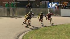 MediaID=37713 - Int. Speedskating Event Mechelen 2015 - Senior men, 500m sprint semifinal2