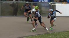 MediaID=37714 - Int. Speedskating Event Mechelen 2015 - Junior A women, 500m final
