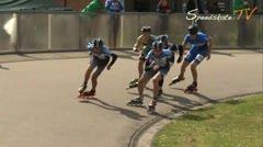 MediaID=37718 - Int. Speedskating Event Mechelen 2015 - Junior B men, 500m semifinal1