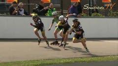 MediaID=37719 - Int. Speedskating Event Mechelen 2015 - Senior women, 500m sprint semifinal1