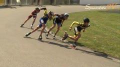 MediaID=37720 - Int. Speedskating Event Mechelen 2015 - Junior A men, 500m semifinal2