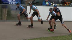 MediaID=37729 - Int. Speedskating Event Mechelen 2015 - Cadet Boys, 500m final