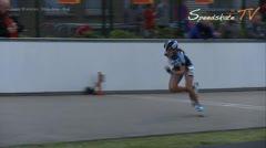 MediaID=37734 - Int. Speedskating Event Mechelen 2015 - Junior B women, 300m time final