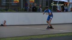 MediaID=37737 - Int. Speedskating Event Mechelen 2015 - Junior B men, 300m time final