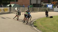 MediaID=37746 - Int. Speedskating Event Mechelen 2015 - Cadet Boys, 500m semifinal1