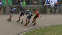 MediaID=37748 - Int. Speedskating Event Mechelen 2015 - Junior B men, 500m final