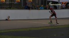 MediaID=37751 - Int. Speedskating Event Mechelen 2015 - Junior A men, 300m time final