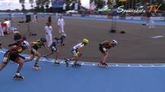 MediaID=37982 - Flanders Grand Prix 2015 - Senior women, 1.000m semifinal2