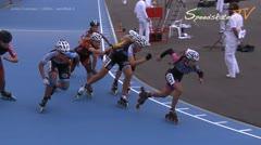 MediaID=38003 - Flanders Grand Prix 2015 - Junior A women, 1.000m semifinal2
