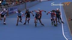 MediaID=38007 - Flanders Grand Prix 2015 - Cadet Girls, 1.000m semifinal1